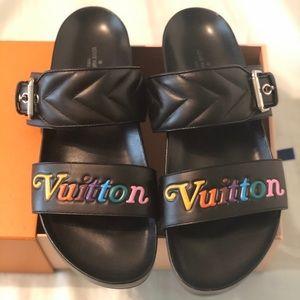 Louis Vuitton size 39 mule sandals